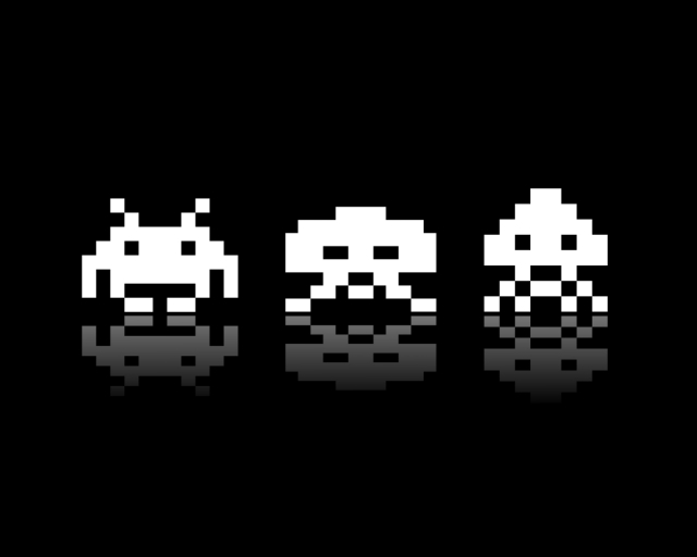 Space Invaders by Molotov Arts