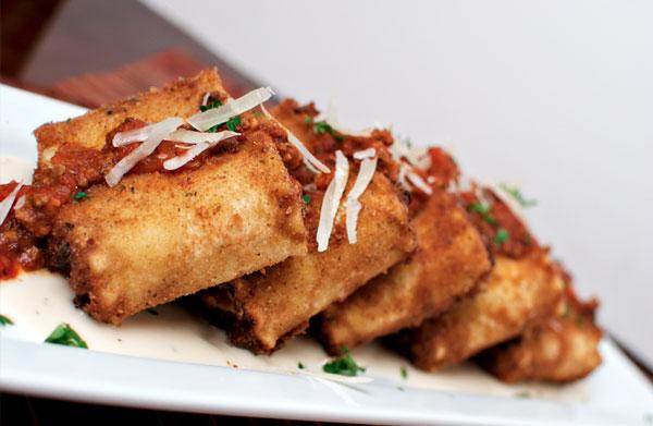 Deep Fried Lasagna