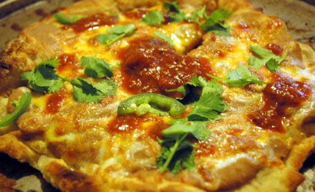 Deep Fried Pizza